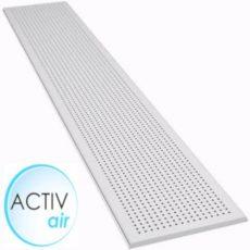 Sávos kör-perforált gipszkarton ámennyezeti lap 1800 mm active-air