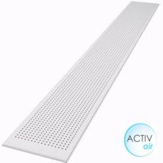 Sávos kör-perforált gipszkarton ámennyezeti lap 2400 mm active-air xtensive