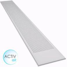 Sávos kör-perforált gipszkarton ámennyezeti lap 2400 mm active-air
