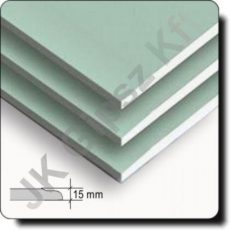 Rigips Impregnál gipszkarton építőlemez 15 mm vtg.
