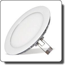 álmennyezeti lámpa 18 wattos mélysugárzó