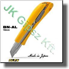Behúzható pengéjü kés Olfa BN AL 18 mm pengével