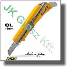 Behúzható pengéjü kés Olfa OL 18 mm pengével