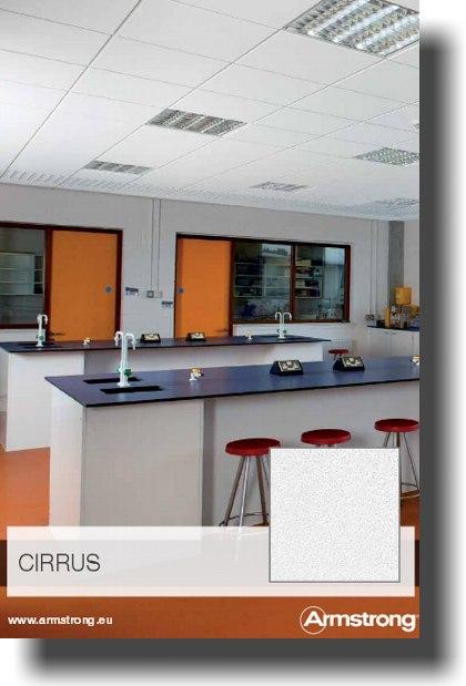 Armstrong Cirrus álmennyezeti lap adatlap letöltése