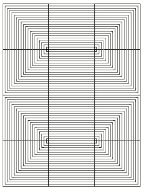 Armstrong design graphis diagonal és linear