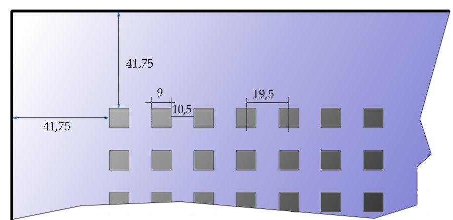 Rigips Gytone Quatro22 perforáció részletek