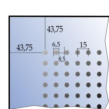 Rigips Gytone Point 12 perforáció részletek