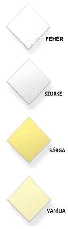 Casoprano lapcsalád választható színei