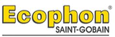 Ecophon Saint-gobain álmennyezeti rendszerek gyártójának logója