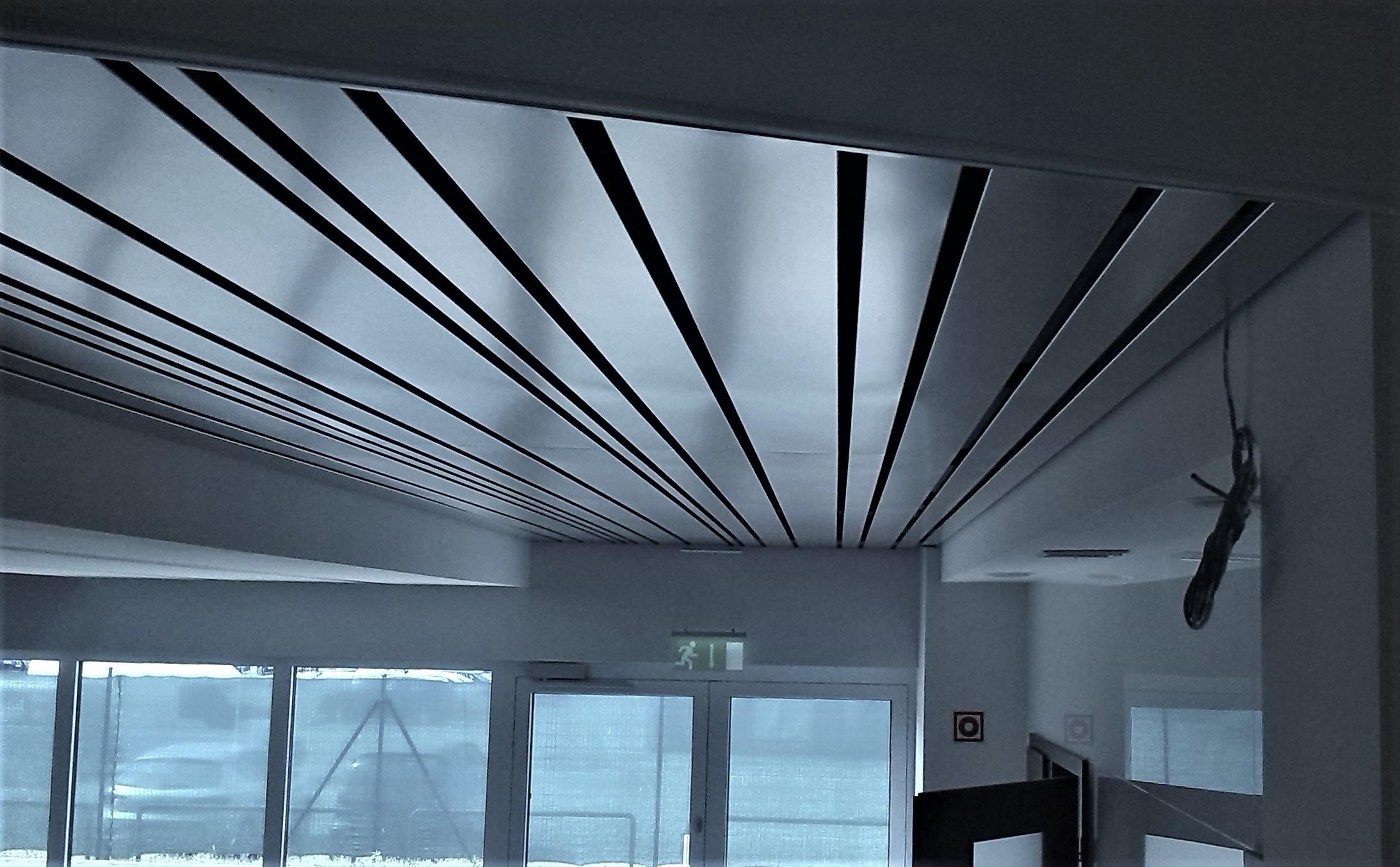 Alu multipanel álmennyezet led világítás nélkül