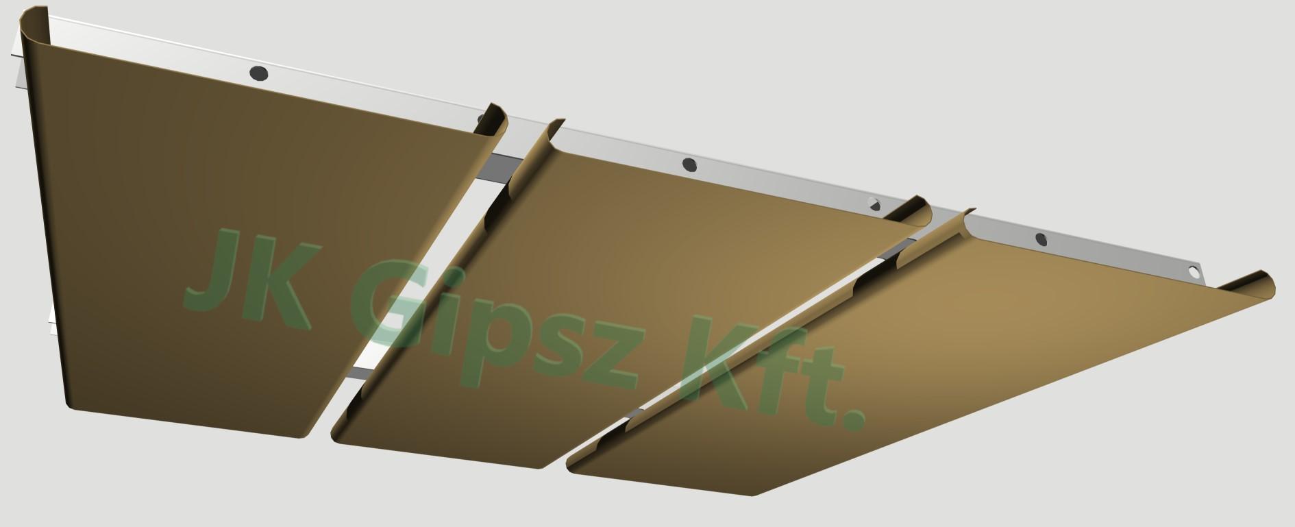 ST200AA álmennyezeti rendszer alul nézet
